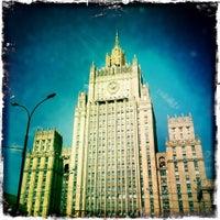 Photo taken at Смоленская-Сенная площадь by Marek Z. on 6/5/2012