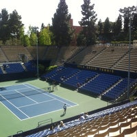 Photo taken at UCLA Los Angeles Tennis Center by Mark F. on 4/6/2012