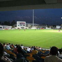 Photo taken at Kensington Oval by www.barbados.org on 1/5/2012
