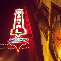 Photo taken at Oriental Theatre by James B. on 10/29/2011