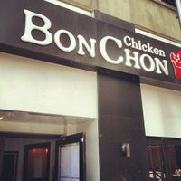 Photo taken at BonChon Chicken by Anthony D. on 7/3/2012