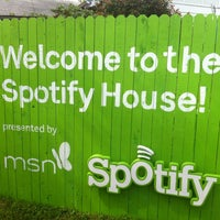 Photo taken at Spotify House by Simon W. on 3/16/2012