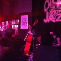 Photo taken at Andy's Jazz Club by Chocion C. on 3/24/2011