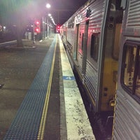 Photo taken at Homebush Station by Kaine T. on 5/25/2012