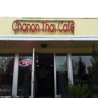 Photo taken at Chanon Thai Cafe by Marc S. on 3/17/2012
