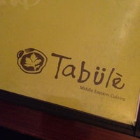 Photo taken at Tabule by Ivan M. on 4/13/2012