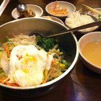 Photo taken at Mill Korean Restaurant by Emily L. on 4/10/2012