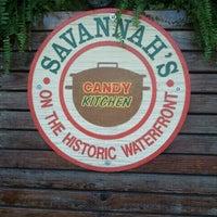 Photo taken at Savannah's Candy Kitchen by Jessi C. on 3/30/2012