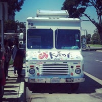 Photo taken at Kogi BBQ Truck by Ashleigh E. on 4/20/2012