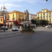 Photo taken at Piazza Tasso by Alessandro P. on 3/24/2012