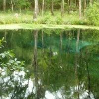 Photo taken at Ichetucknee Springs State Park - North Gate by Vanity S. on 4/17/2012