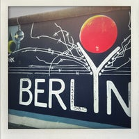 Photo taken at East Side Gallery by JiaJia F. on 9/2/2012