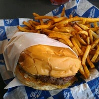 Photo taken at Pappas Burger by The C. on 4/8/2012