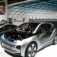 Photo taken at BMW at the NY International Auto Show by Todd S. on 4/15/2012