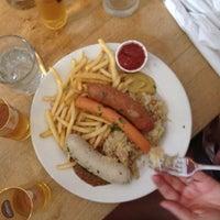 Photo taken at Loreley Restaurant & Biergarten by Bastian B. on 6/9/2012