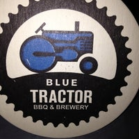 Photo taken at Blue Tractor BBQ & Brewery by Alecia E. on 5/26/2012