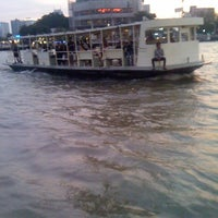 Photo taken at Khlong San Pier by Thaphat ผ. on 3/2/2012