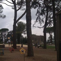 Photo taken at Basilica di San Fortunato by Elisa P. on 4/5/2012