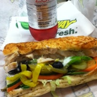 Photo taken at Subway by Briana L. on 9/13/2012