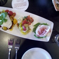 Photo taken at DOUGH Pizzeria Napoletana by Shawn H. on 6/19/2012