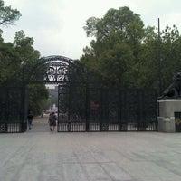 Photo taken at Puerta de los Leones by Ernesto C. on 6/7/2012