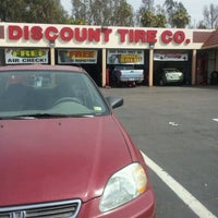 Photo taken at Discount Tire® Store by Sonia G. on 7/30/2012