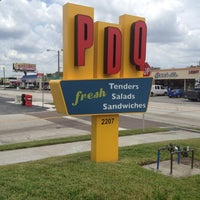 Photo taken at PDQ Tenders Salads & Sandwiches by Flavia R. on 5/4/2012