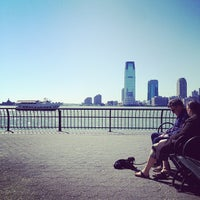 Photo taken at Hudson River Promenade by Marshall T. on 4/29/2012
