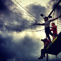 Photo taken at Trapeze School New York by artemisrex on 6/10/2012