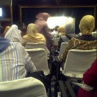Photo taken at Graha Citra Caraka by Bongkeng J. on 10/6/2011