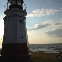 Photo taken at Vermilion Lighthouse by Sarah B. on 6/3/2012