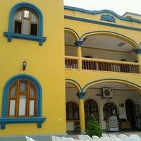 Photo taken at Rectorado Universidad Inca Garcilaso de la Vega by Rodney V. on 12/22/2011