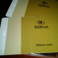 Photo taken at Hilton Charlotte Center City by Orlando G. on 1/17/2012