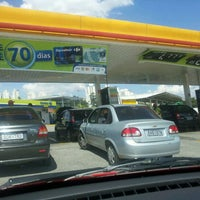 Photo taken at Posto Carrefour (Shell) by Joaquim G. on 3/21/2012