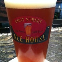 Photo taken at Post Street Ale House by Tyler R. on 7/22/2011