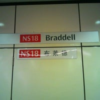 Photo taken at Braddell MRT Station (NS18) by 昭亮 楊. on 12/12/2011