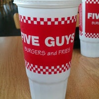 Photo taken at Five Guys by Gary C. on 9/23/2011