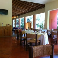 Photo taken at Restaurant Los Azulejos Hotel Camino Real Ixtapan De La Sal by David F. on 3/8/2012