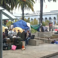 Photo taken at F Street Car Muni Stop - Don Chee Way by Maria L. on 11/24/2011