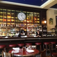 Photo taken at Left Bank Brasserie by Andrew S. on 2/11/2012