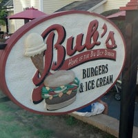 Photo taken at Bub's Burgers & Ice Cream by Loras K. on 9/9/2012