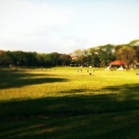 Photo taken at Sunken Garden by Supergirl on 2/25/2012