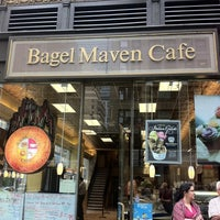 Photo taken at Bagel Maven Cafe by Dani S. on 6/24/2011