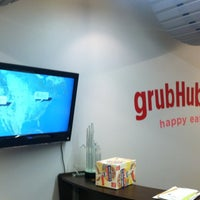 Photo taken at GrubHub.com World Headquarters by Allen P. on 4/5/2012