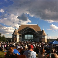 Photo taken at Lake Harriet Band Shell by Sean B. on 8/21/2011