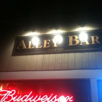 Photo taken at The Alley Bar by Tom A. on 1/12/2012