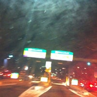 Photo taken at I-90 Weston Toll Plaza from / to I-95 (Exit 14) by Bobby A. on 8/24/2011