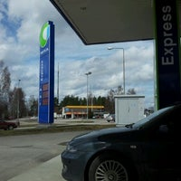 Photo taken at Neste Express Siltakatu by PLA ^. on 4/27/2012