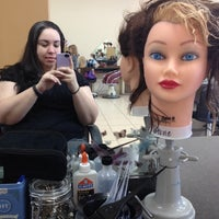 Photo taken at Woodys Hairstyling School by Desirai L. on 5/4/2012