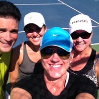 Photo taken at Austin High Tennis Center by Shannon J. on 6/9/2012